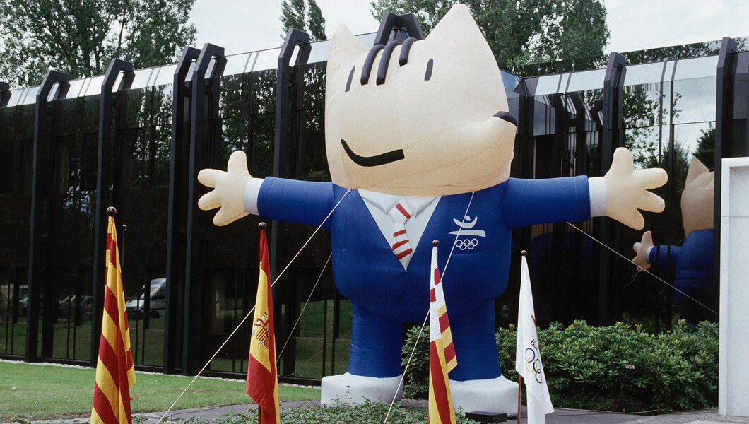 Mascote da Olimpíada de Barcelona 1992