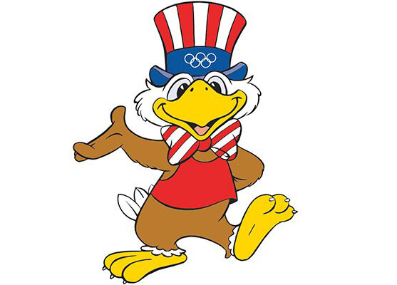Mascote da Olimpíada de Los Angeles 1984