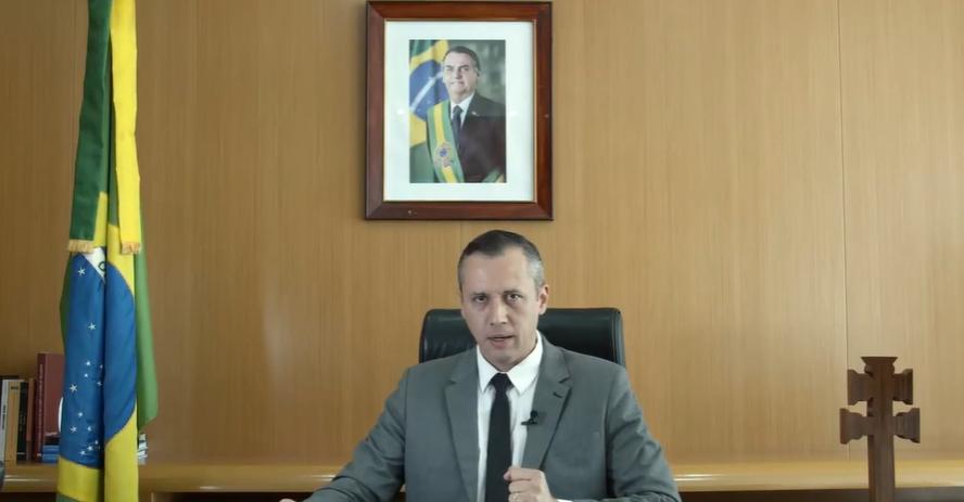 Roberto Alvim , ex-secretário especial da Cultura