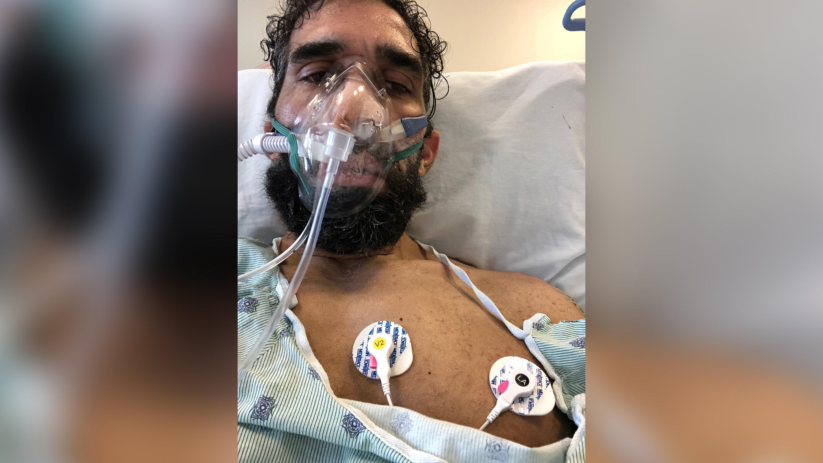 Ahmad Ayya após o coma.