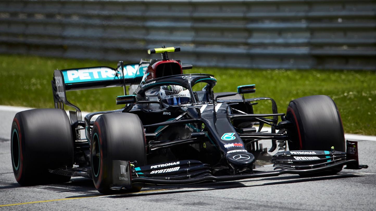 Bottas, da Mercedes, venceu a etapa da Áustria da F1, primeria corrida de 2020