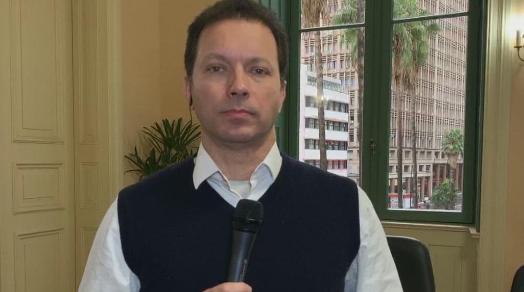 O prefeito de Porto Alegre, Nelson Marchezan Júnior (PSDB), fala à CNN