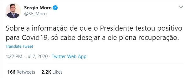 Sergio moro bolsonaro