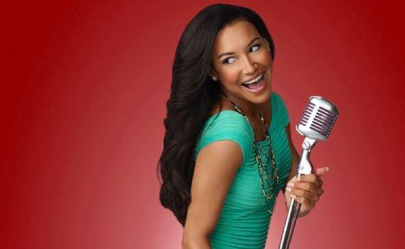 Atriz Naya Rivera interpretou Santana Lopez na série 'Glee'