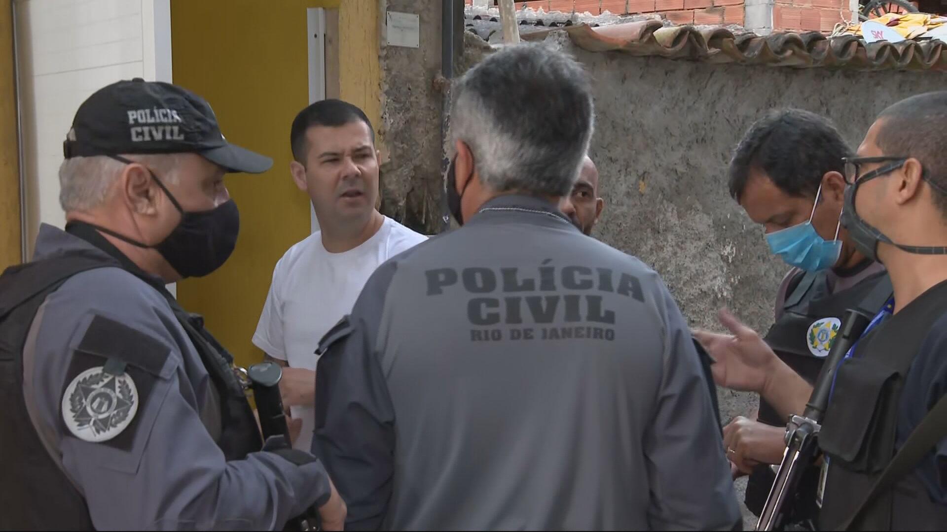 Polícia Civil faz sobre operação contra milícias no Rio de Janeiro