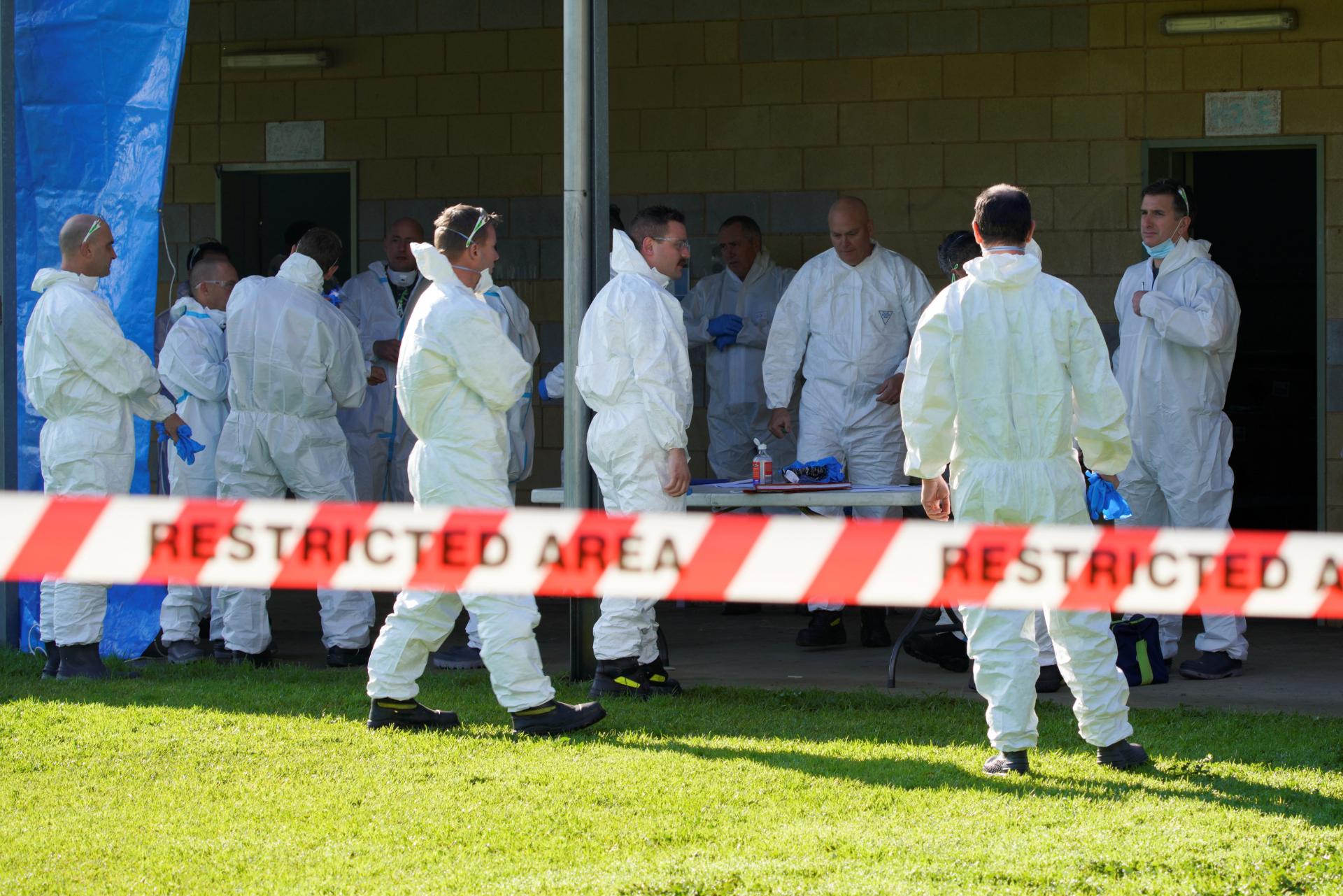 Equipe de saúde em Melbourne, na Austrália