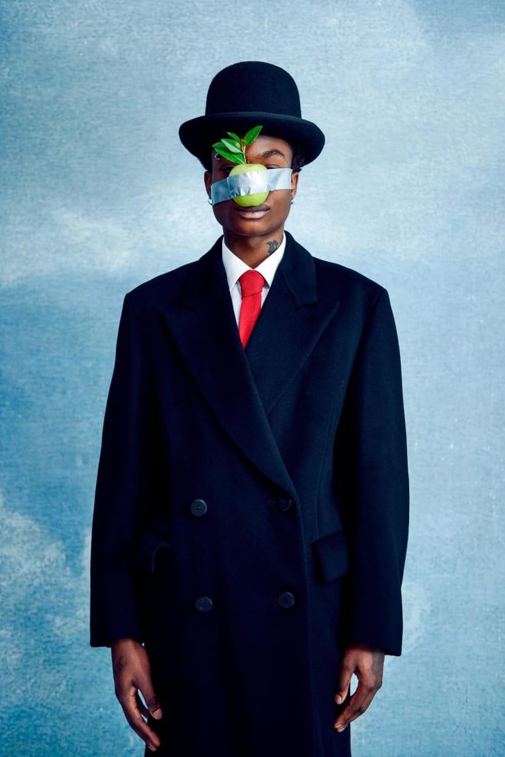 """Obra """"Ceci n'est pas une Magritte"""", de Mous Lamrabat"""