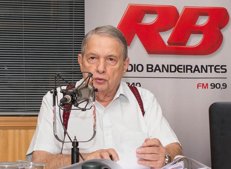 O jornalista José Paulo de Andrade