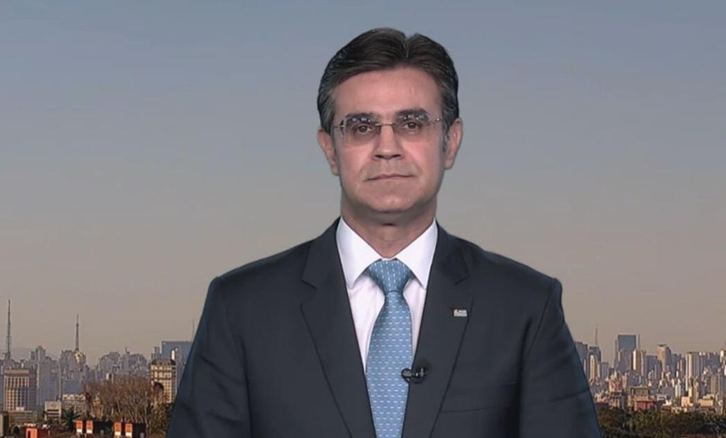 O vice-governador de São Paulo, Rodrigo Garcia (DEM), fala à CNN