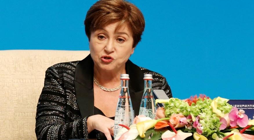 Diretora-gerente do Fundo Monetário Internacional, Kristalina Georgieva 21/11/2019REUTERS/Florence Lo