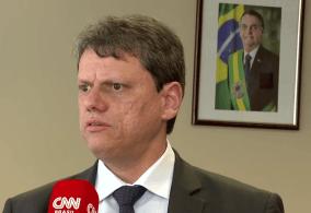 """Ministro da Infraestrutura reforça a mensagem de Bolsonaro sobre prejuízos à economia e afirma que o áudio """"mostra a preocupação do presidente com a paralisação"""""""