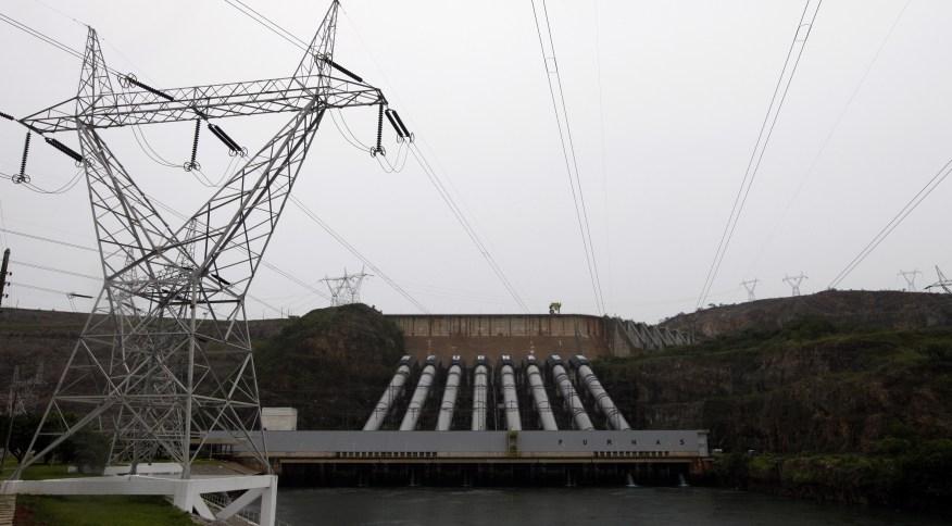 Usina hidrelétrica de Furnas, em São José da Barra (MG) 14/01/2013REUTERS/Paulo Whitaker