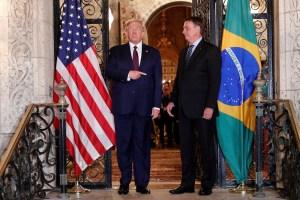 Donald Trump divulga mensagem de apoio a Jair Bolsonaro no dia do relatório da CPI