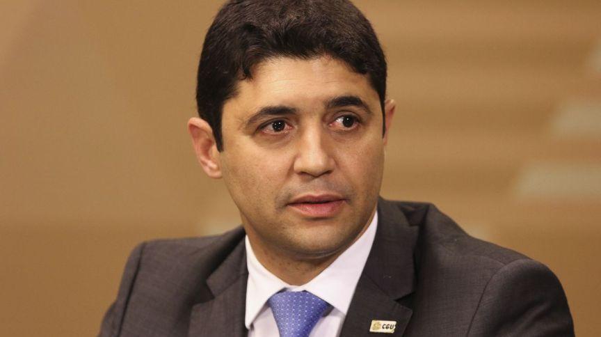 O ministro Wagner Rosário, chefe da Controladoria-Geral da União (CGU)