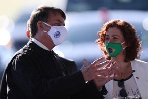 Deputada foi central em 2 episódios recentes: a saída de Sergio Moro do Ministério da Justiça e da atriz Regina Duarte da Secretaria Especial da Cultura