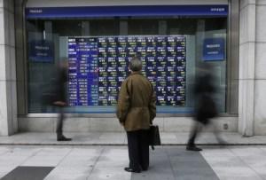 Bolsas da Ásia fecham na maioria em baixa, esperando avanço menor do PIB chinês