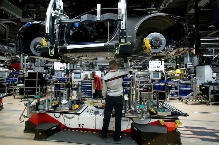 Fábrica da Porsche em Stuttgart, Alemanha  19/03/2019 REUTERS/Ralph Orlowski