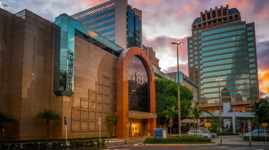 Morumbi Shopping, da Multiplan, em São Paulo: gestoras apresentaram resultados acima do esperado no segundo trimestre