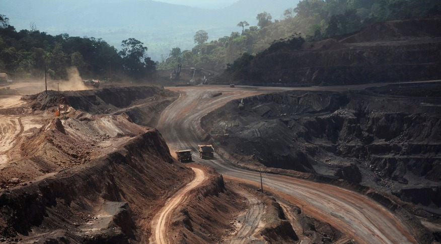 Área de mina de minério de ferro em Paraupebas (PA)  29/05/2012 REUTERS/Lunae Parracho