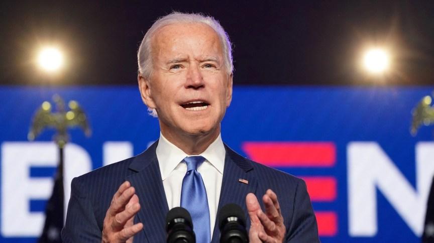 O democrata Joe Biden, 46º presidente dos EUA