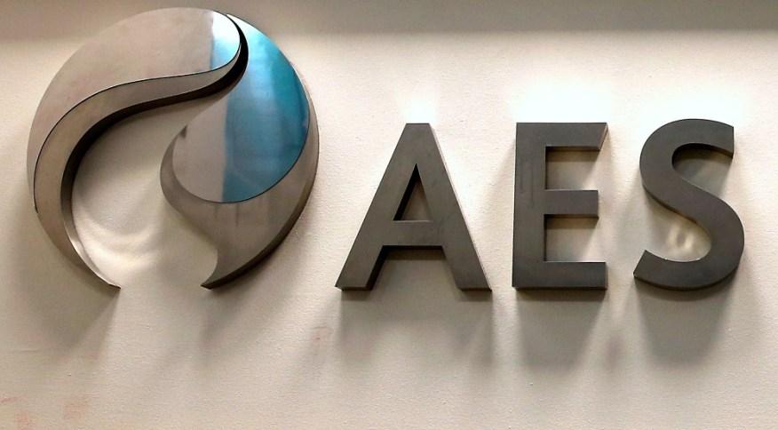 Logo da AES: segundo a Eneva, a união das duas empresas criaria uma plataforma mais eficiente de ativos de geração de energia