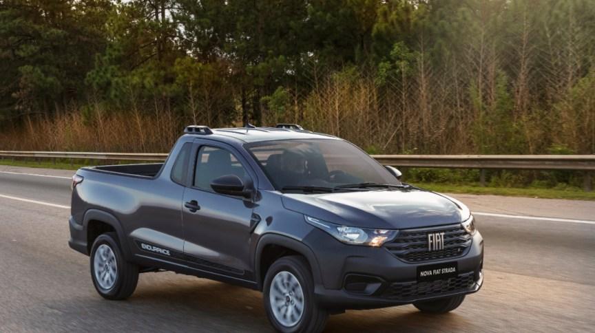 Nova Strada, da Fiat, que foi lançada em junho