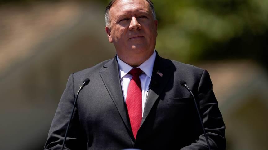 O ex-secretário de Estado dos EUA, Mike Pompeo