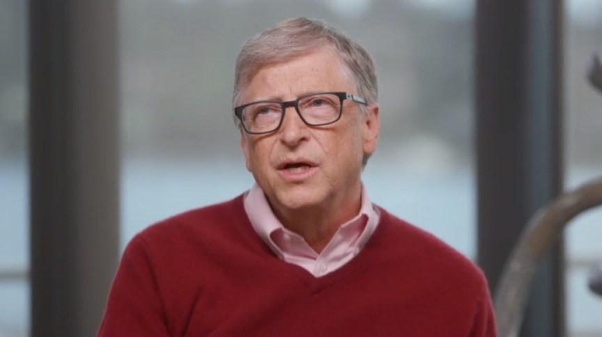 O filantropo americano Bill Gates, em entrevista à CNN