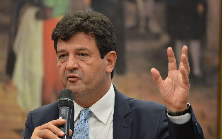 O ministro da Saúde, Luiz Henrique Mandetta (DEM)