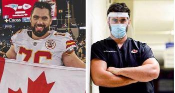 Campeão do último Super Bowl pelo Kansas City Chiefs usa opção de abandonar temporada de 2020. 'Não posso me permitir transmitir vírus potencialmente', disse