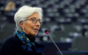 A presidente do Banco Central Europeu, Christine Lagarde, rejeitou as comparações entre as duas economias