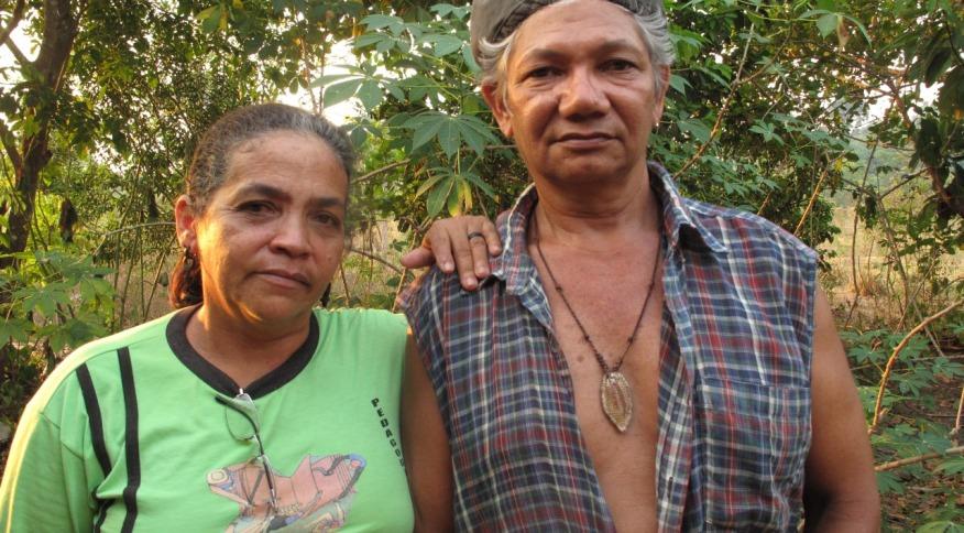 Casal de extrativistas assassinados por pistoleiros, em 24 de maio de 2011, no Pará