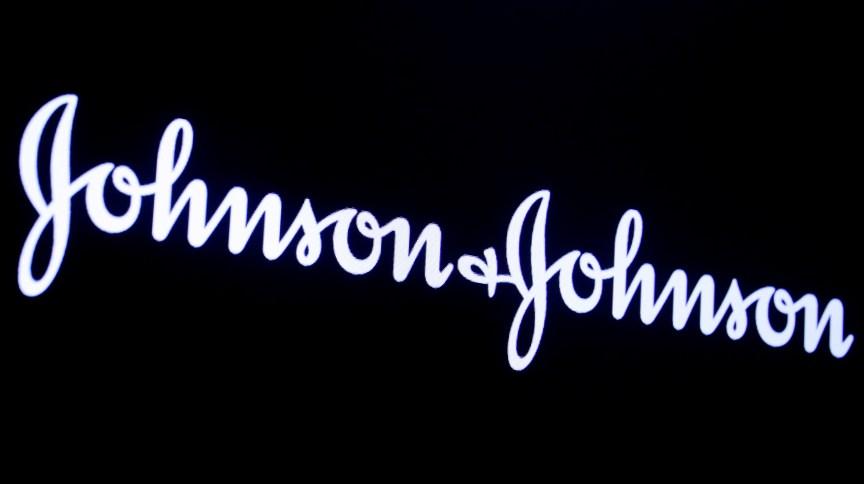 Logo da Johnson & Johnson na Bolsa de Valores de Nova York
