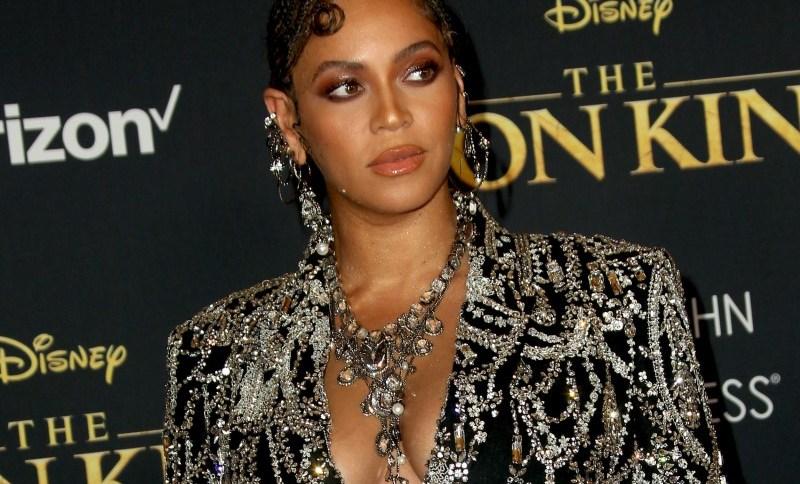 Beyoncé na pré-estreia mundial de 'O Rei Leão'