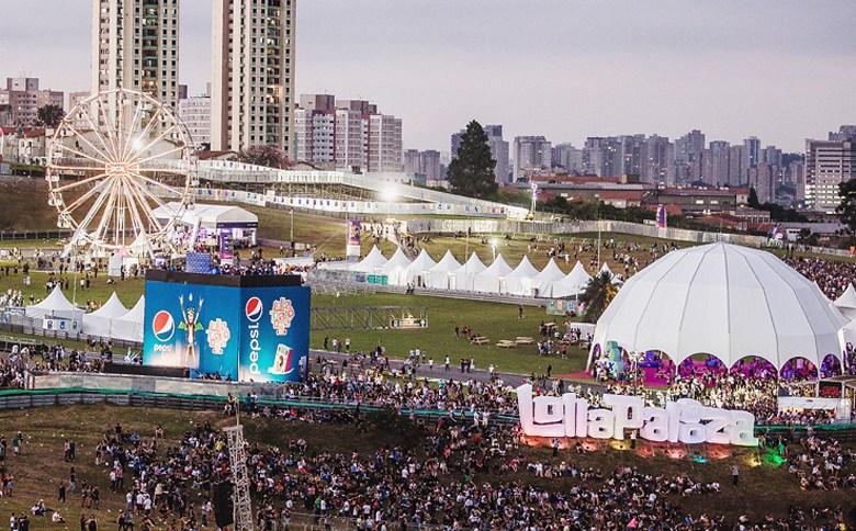 Festival de música Lollapalooza, em São Paulo
