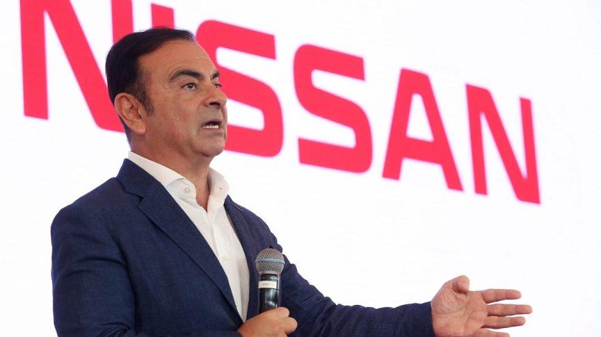 O ex-presidente da Nissan Carlos Ghosn