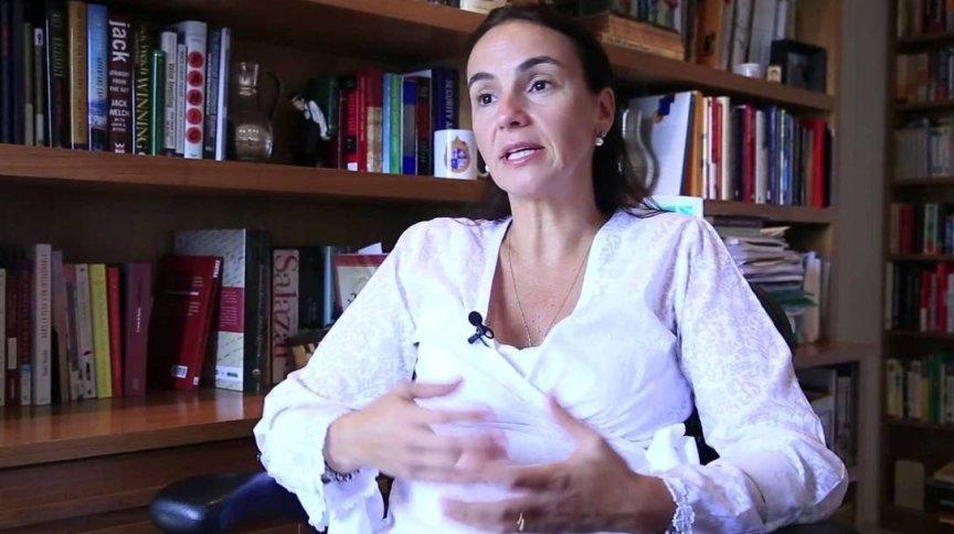 A educadora Ilona Becskeházy