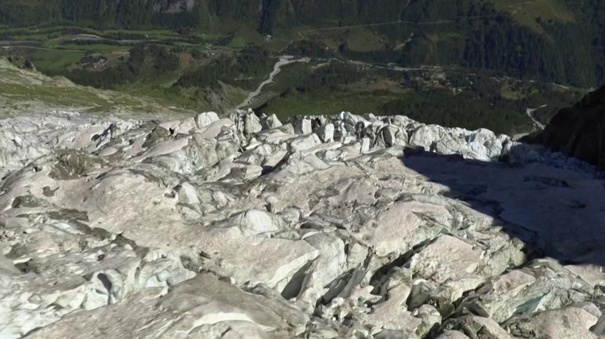 Autoridades italianas esvaziaram cidade no Vale Ferret por possibilidade de deslizamento do Glaciar Planpincieux, que tem cerca de 500 metros cúbicos de gelo
