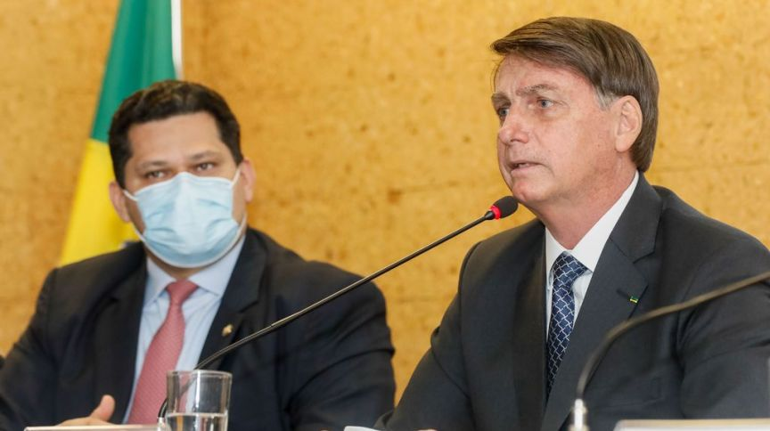 Alcolumbre estaria disposto a ser ministro no governo de Jair Bolsonaro