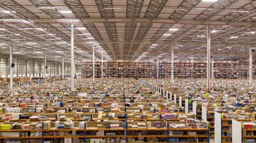Centro de distribuição do Mercado Livre em Cajamar - Grande São Paulo