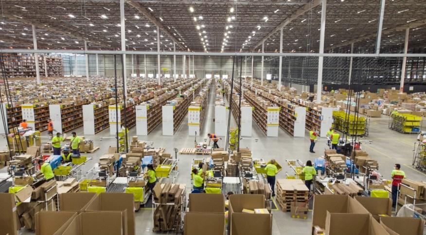 <strong>Centro de distribuição do Mercado Livre em Cajamar na Grande São Paulo</strong>