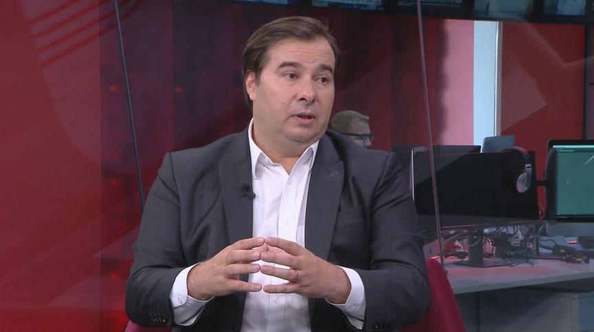 Rodrigo Maia, presidente da Câmara, em entrevista à CNN Brasil