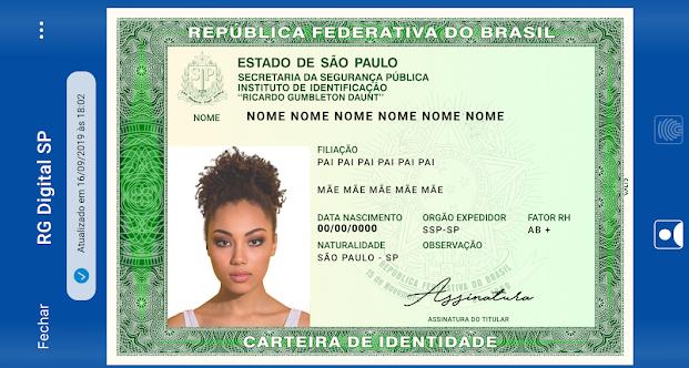 Polícia Civil de São Paulo lançou aplicativo para Android e iOS com versão digital do RG