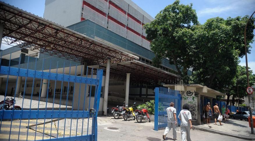 25.dez.2015 – Hospital Federal de Bonsucesso, em Bonsucesso, zona norte do Rio de Janeiro (RJ)