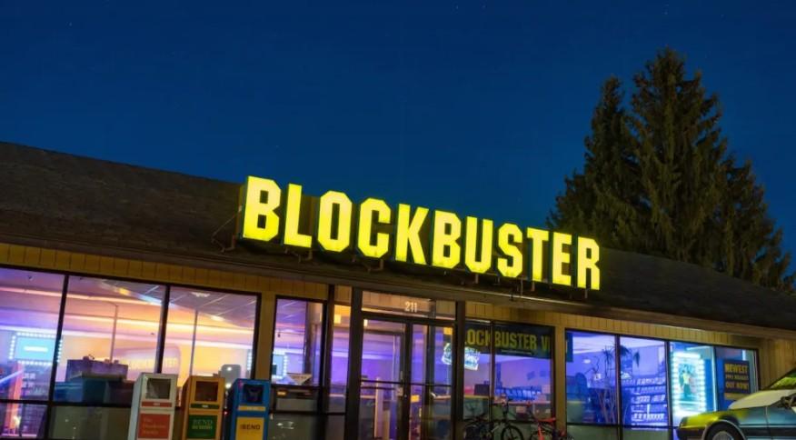 A última Blockbuster do mundo, em Bend, Oregon: até a falida empresa foi alvo de especulação