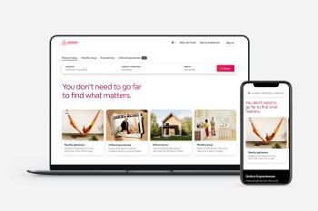 As pessoas que querem sair de casa veem o Airbnb como uma alternativa melhor para fazer distanciamento social do que se hospedar em um hotel