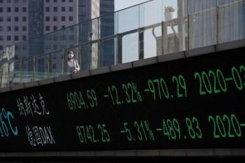O Produto Interno Bruto (PIB) da China teve expansão anual de 4,9% no terceiro trimestre, menor do que o avanço de 5,1% esperado por analistas