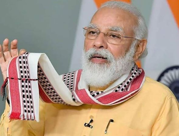 O premiê indiano Narendra Modi