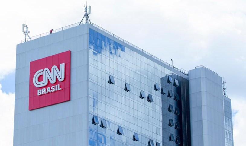 Fachada da CNN, em Brasília