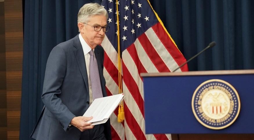 Chaiman do Federal Reserve, Jerome Powell: deve ser mantidoo ritmo de compras pelo Fed de títulos do Tesouro e de outros ativos financeiros vinculados a hipotecas